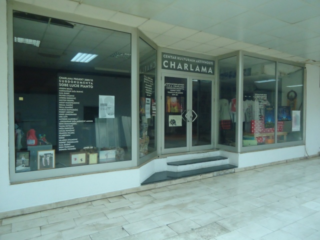 Galerija Charlama: closed for business