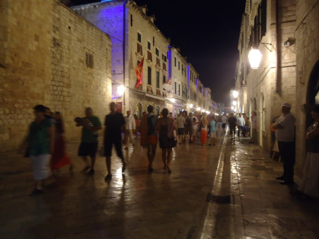 The performative spaces of Dubrovnik