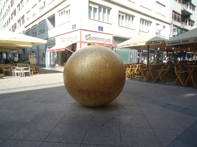 Ivan Kozaric's  Landed Sun