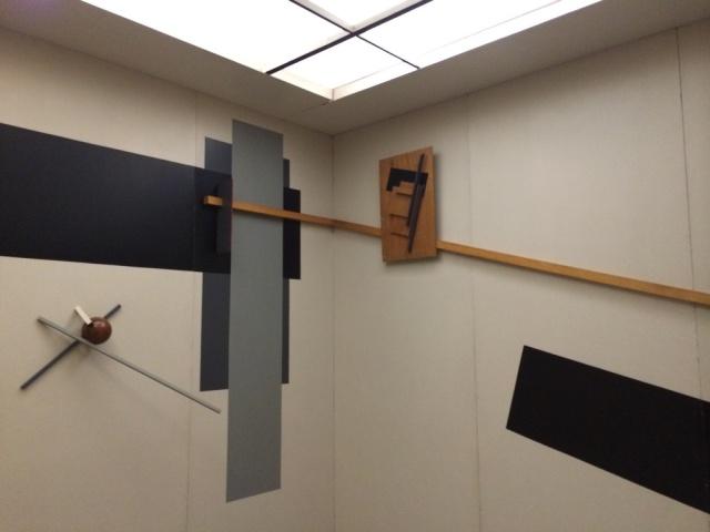 El Lissitzky's Proun Room in Berlinische Galerie