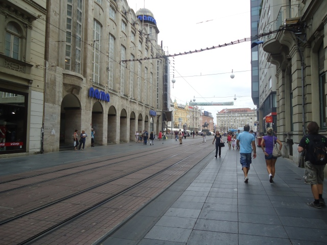 The location of  Zagreb, I Love You!